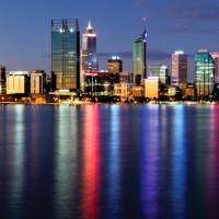 Thành phố Perth về đêm