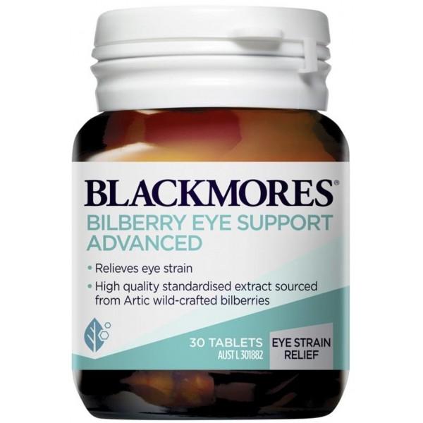 Blackmores Bilberry Eye Support Advanced - Tăng cường thị lực