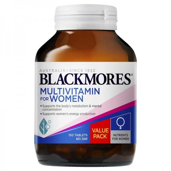 Blackmores - Multivitamin for Women Exclusive - Vitamin tổng hợp dành cho nữ giới 150v