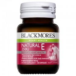 Blackmores - Vitamin E 250, 500 và 1000IU