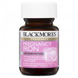 Blackmores - Pregnancy Iron - Viên uống bổ sung sắt cho bà bầu 30 viên