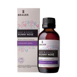 Brauer - Siro thảo dược trị sổ mũi cho bé từ 6 tháng – Runny Nose 100ml