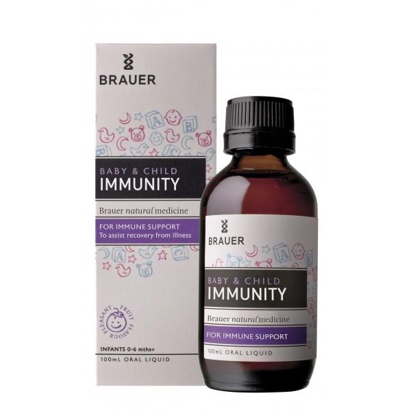 Brauer - Hỗ trợ hệ miễn dịch tăng cường sức đề kháng Immunity 100ml
