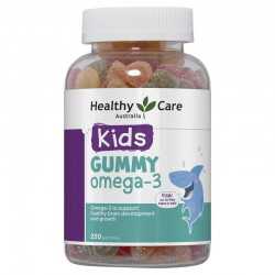 Healthy care - Kẹo dẻo Omega 3 250 viên