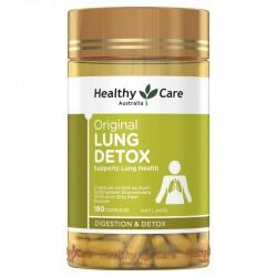 Healthy Care - Viên uống giải độc phổi Original Lung Detox 180 viên
