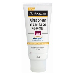 Kem chống nắng Neutrogena Ultra Sheer Clear Face Sunscreen Liquid-Lotion SPF50 88ml