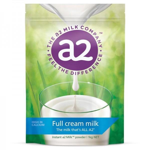 A2 - Sữa tươi dạng bột nguyên kem
