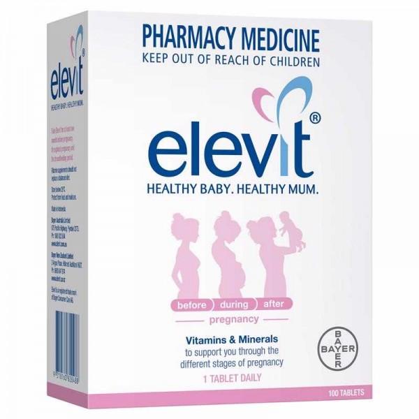 Bayer - Elevit - Vitamin tổng hợp cho phụ nữ mang thai