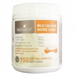 Bio island - Milk Calcium Bone Care Canxi bổ xung chắc khỏe xương