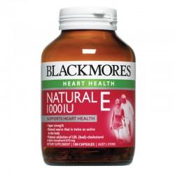 Blackmores Natural Vitamin E 1000IU 100 Viên