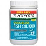 Blackmores - Odourless fishoil - Dầu cá không mùi