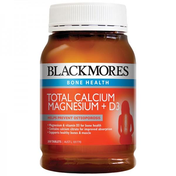 Blackmores - Bổ sung Caxi, Magie và Vitamin D3