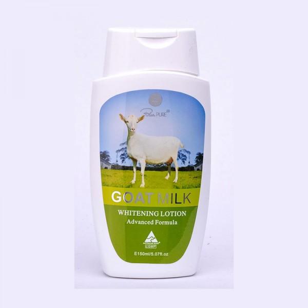 Blue Pure Goat Milk Whitenning 150ml - Sữa dê dưỡng thể làm trắng da toàn thân