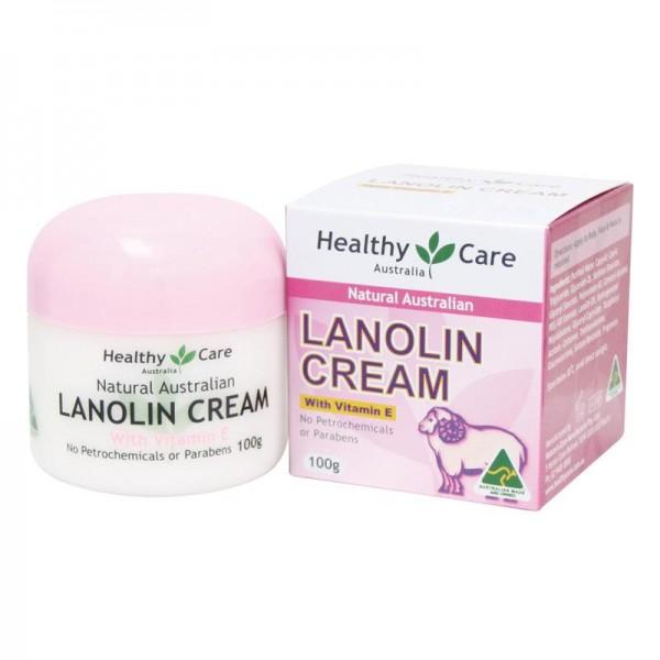 Kem Nhau thai cừu Healthy Care Lanolin cream with Vitamin E