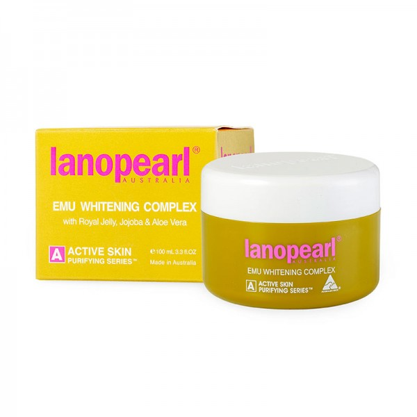 Lanopearl - Kem trắng da tinh chất đà điểu