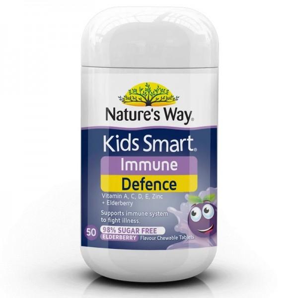 Nature's Way - Bảo vệ hệ miễn dịch - KIDS SMART IMMUNITY DEFENCE 50 VIÊN NHAI