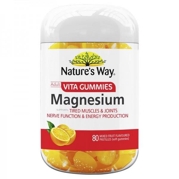 Nature's Way - Magnesium Vita Gummies 80 Viên cho người lớn