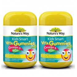 Nature's Way - kẹo dẻo Kids Smart Vita Gummies Multi + Omega 50 viên