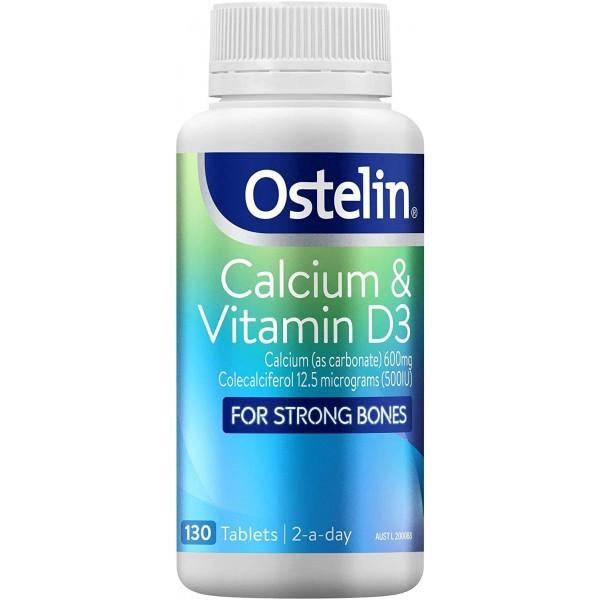Ostelin - Bổ sung canxi và Vitamin D 130 viên của Úc (dùng được khi mang thai)
