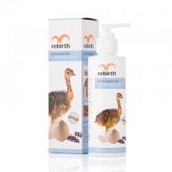 Lanopearl Re-Birth Emu Oil Lavender Lotion Moisturising Cream - Sữa dưỡng thể Tinh dầu Đà Điểu và Lavender làm trắng da 200ml