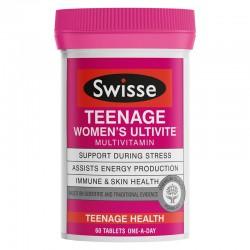Swisse - teenage ultivite women's multivitamin - Đa vitamin cho thanh niên nữ 60 viên