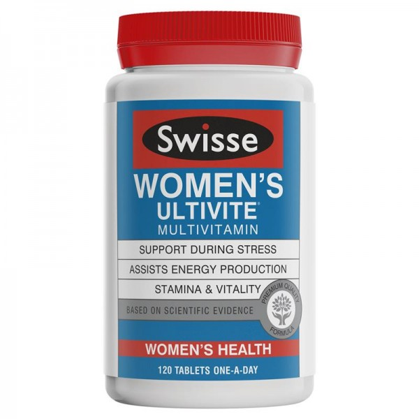 Swisse - Women's Ultivite Multivitamin - Đa vitamin cho nữ giới 120 viên