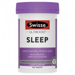 Swisse Ultiboost Sleep - Hỗ trợ giấc ngủ 100v