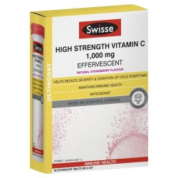Swisse Vitamin C 60 Effervescent Tablets - viên sủi Vitamin C 60 viên